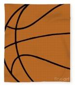 Rugby Ball Fleece Blanket