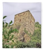 Ruins Of Durnstein Fleece Blanket
