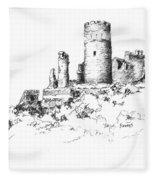 Ruins Of Furstenburg Castle Fleece Blanket