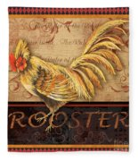 Ruler Of The Roost-2 Fleece Blanket