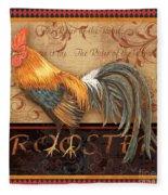 Ruler Of The Roost-4 Fleece Blanket