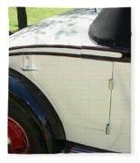 1934 Bruster Rumble Seat Access Fleece Blanket