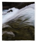 Run River Run 1 Fleece Blanket