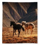 Running Free Fleece Blanket