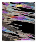 Runnoff Rainbows Fleece Blanket