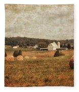 Rural America Fleece Blanket