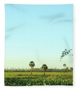 Rural Cambodia Fleece Blanket
