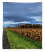 Rural Drama.. Fleece Blanket