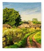 Rural Home Fleece Blanket