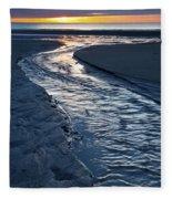 Rush To The Sun Fleece Blanket