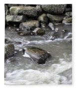 Rushing Water Fleece Blanket