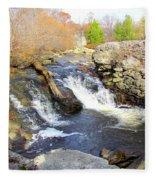 Rushing Waters Fleece Blanket