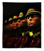Russian Honor Guard - Featured In Men At Work Group Fleece Blanket