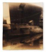 Russian Submarine Heirloom 02 Fleece Blanket
