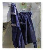 Russian Tall Ship Uniforms Fleece Blanket