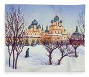 Russian Winter Fleece Blanket