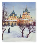 Russian Winter Fleece Blanket