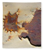 Rust #1 Fleece Blanket