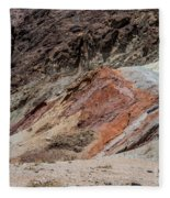 Rust Colored Formation Fleece Blanket