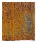 Rust Fleece Blanket
