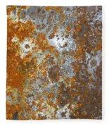 Rust Never Sleeps Fleece Blanket