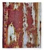 Rusted Fleece Blanket