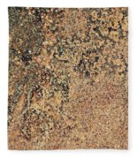 Rusted Metal Fleece Blanket