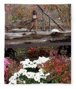 Rustic Fall Fleece Blanket