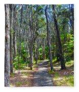 Rustic Trail Fleece Blanket