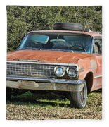 Rusty Impala Fleece Blanket