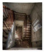 Rusty Stairs Fleece Blanket