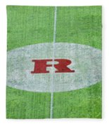 Rutgers College Camden New Jersey Fleece Blanket