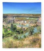 Ryan Dam State Park Fleece Blanket
