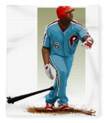 Ryan Howard Fleece Blanket