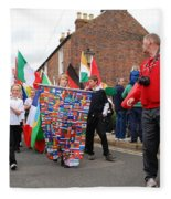 Rye Olympic Torch Relay Parade Fleece Blanket