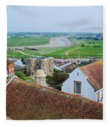 Rye Roofs Fleece Blanket