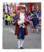 Rye Town Crier Fleece Blanket