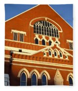 Ryman Auditorium Fleece Blanket