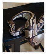 S Is For Snake Fleece Blanket