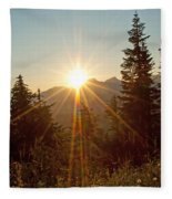 Sabbath Sunset Fleece Blanket
