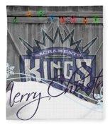 Sacramento Kings Fleece Blanket