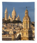 Sacre Coeur - Paris Fleece Blanket