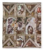 Sacred Ceiling Fleece Blanket