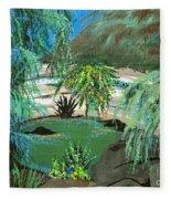 Sacred Cenote At Chichen Itza Fleece Blanket