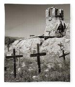 Sacred Cross Fleece Blanket