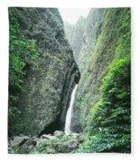 100450-sacred Falls  Fleece Blanket