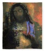 Sacred Heart Fleece Blanket