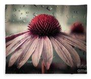 Sad Solitude Fleece Blanket