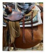 Saddle Up Partner Fleece Blanket