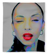 Sade 3 Fleece Blanket